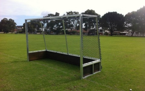 Aluminium hockey goals perth
