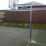 heavy duty basketball / netball Combination reversible Units