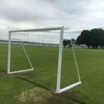 WA removable soccer goals for juniors