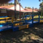 Custom steel fabrication for Perth school