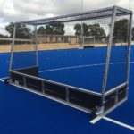 Guildford Grammar School, Perth, WA hockey goals