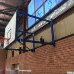 Rockingham, WA Wall-mounted side swing basketball goals